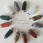 Фен-шуй и эзотерика handmade. Livemaster - original item Pendulum dowsing natural stone. Handmade.