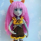 Куклы и игрушки ручной работы. Ярмарка Мастеров - ручная работа Девочка-тигра. Handmade.