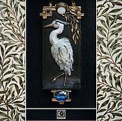 Украшения ручной работы. Ярмарка Мастеров - ручная работа Shirasagi-no Mai / Танец белой цапли.. Handmade.