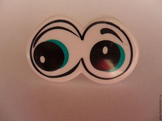 Куклы и игрушки ручной работы. Ярмарка Мастеров - ручная работа. Купить Глазки для игрушек цветные.. Handmade. Глаза, глаза для игрушек