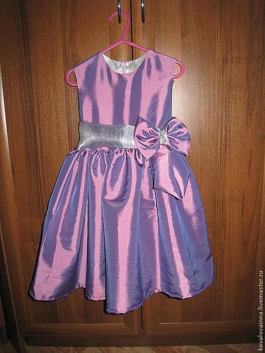 """Одежда для девочек, ручной работы. Ярмарка Мастеров - ручная работа. Купить Платье """"Сиреневый туман"""". Handmade. Платье нарядное, для девочки"""