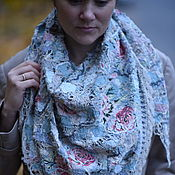 Аксессуары handmade. Livemaster - original item Handkerchief from the