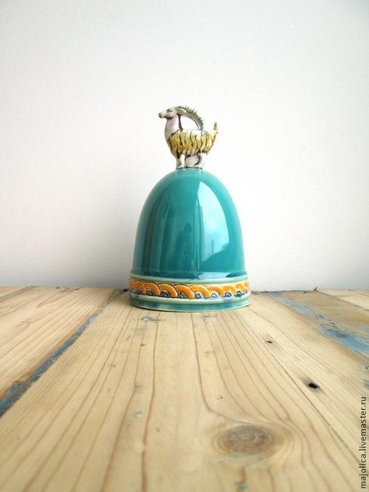 """Колокольчики ручной работы. Ярмарка Мастеров - ручная работа. Купить Колокольчик """"Серебряное копытце"""". Handmade. Колокольчик, символ нового года"""