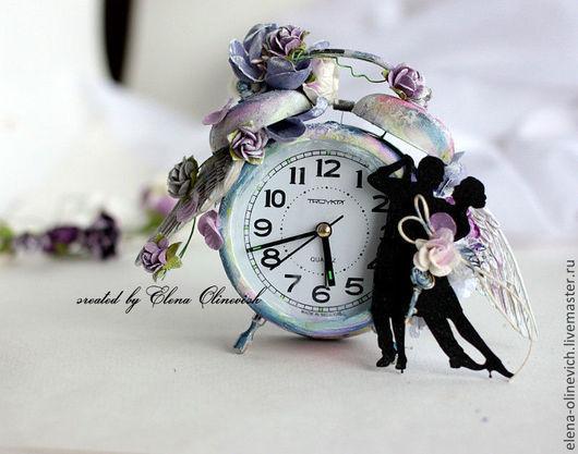 Подарки на свадьбу ручной работы. Ярмарка Мастеров - ручная работа. Купить Свадебные часы. Handmade. Часы, танго