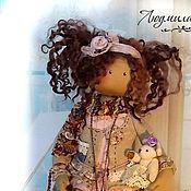 Куклы и игрушки ручной работы. Ярмарка Мастеров - ручная работа Текстильная кукла Ариша. Handmade.