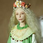 Куклы и игрушки ручной работы. Ярмарка Мастеров - ручная работа Ангел и олененок, авторская кукла. Handmade.