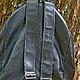 """Рюкзаки ручной работы. """"Время драконов""""- небольшой рюкзачок. Белая фуксия. Ярмарка Мастеров. Кожаный рюкзак"""