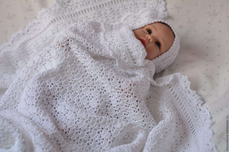 плед для новорожденноговязанный плед крючком плед на выписку