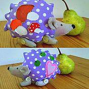 Куклы и игрушки ручной работы. Ярмарка Мастеров - ручная работа Тильда-ёж Торопыжка. Handmade.