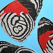 """Картины и панно ручной работы. Ярмарка Мастеров - ручная работа Картина """"Черное, красное, белое"""". Handmade."""