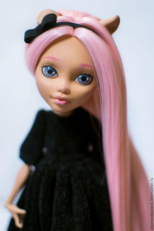 Коллекционные куклы ручной работы. Ярмарка Мастеров - ручная работа. Купить ООАК Хоулин (Monster High). Handmade. Бледно-розовый