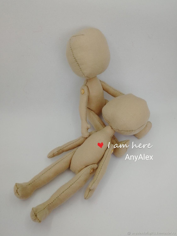 Заготовка куклы 12 см, Заготовки для кукол и игрушек, Ачинск,  Фото №1