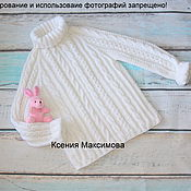 Работы для детей, handmade. Livemaster - original item sweater