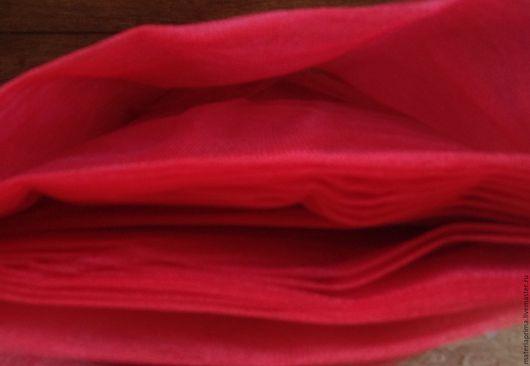 Шитье ручной работы. Ярмарка Мастеров - ручная работа. Купить фатин красный насыщенный. Handmade. Фатин красный, фатин для юбки