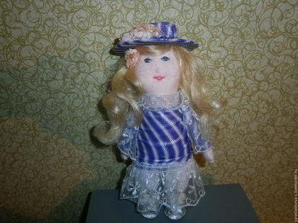 Коллекционные куклы ручной работы. Ярмарка Мастеров - ручная работа. Купить Куколка Надежда. Handmade. Бледно-розовый, туфельки