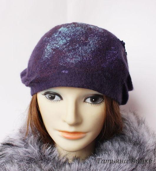 Шляпка валяная из войлока, Валяная шляпка,шляпку купить, Войлочная шляпа, войлочная шляпка, шляпка валяние, шляпка из шерсти