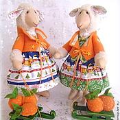 Куклы и игрушки ручной работы. Ярмарка Мастеров - ручная работа Овечки Новогодние. Handmade.