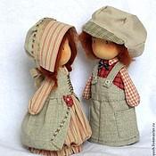 """Куклы и игрушки ручной работы. Ярмарка Мастеров - ручная работа Текстильные куколки  """"Детки Love is.."""". Handmade."""