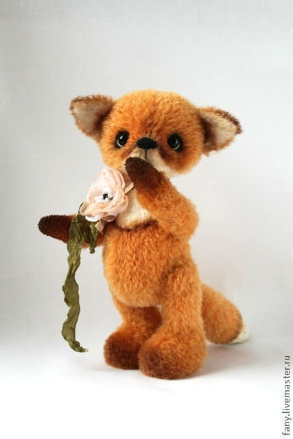 """Куклы и игрушки ручной работы. Ярмарка Мастеров - ручная работа. Купить Набор для шитья """"Лисёнок Огонёк"""" 21 см.. Handmade."""