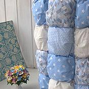 Для дома и интерьера ручной работы. Ярмарка Мастеров - ручная работа Детское воздушное одеяло БОНБОН. Handmade.