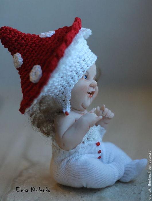 """Коллекционные куклы ручной работы. Ярмарка Мастеров - ручная работа. Купить """"Я не вкусный"""". Handmade. Ярко-красный, краски масляные"""