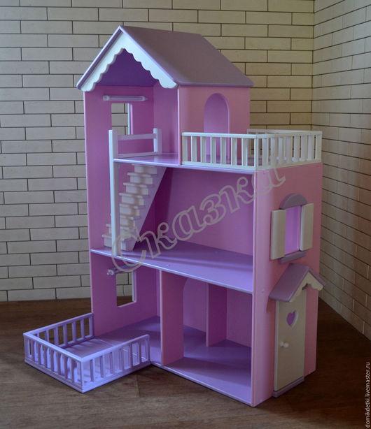 Кукольный дом ручной работы. Ярмарка Мастеров - ручная работа. Купить Кукольный домик. Handmade. Кукольный дом