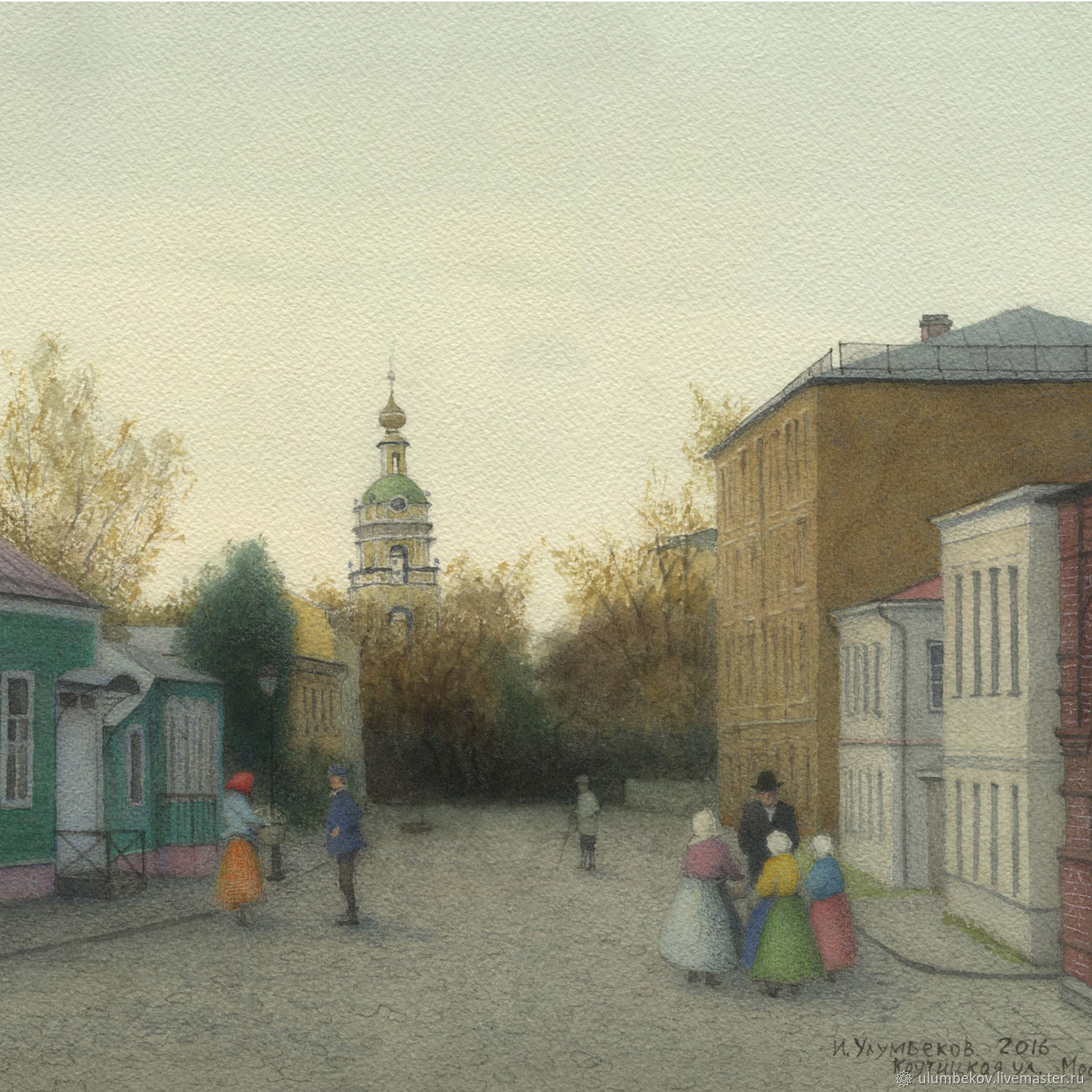 Paintings posters to buy on canvas Moscow Krutitskaya street, Pictures, Moscow,  Фото №1
