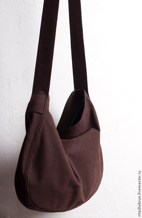 ba20a168dfe0 Женские сумки ручной работы. Ярмарка Мастеров - ручная работа. Купить  Кожаная сумка-мешок ...