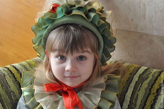 Детские карнавальные костюмы ручной работы. Ярмарка Мастеров - ручная работа. Купить Костюм елочки. Handmade. Тёмно-зелёный, елка
