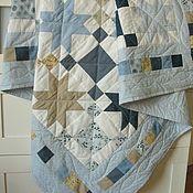 Blankets handmade. Livemaster - original item Blanket-plaid