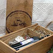 Сувениры и подарки handmade. Livemaster - original item Mulled wine set in a drawer. Handmade.