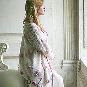 """Одежда ручной работы. Ярмарка Мастеров - ручная работа Пальто вязаное летнее """"Розовые мечты"""". Handmade."""