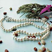 Украшения handmade. Livemaster - original item A necklace of natural pearls