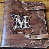 Сумки и аксессуары handmade. Livemaster - original item Folder made of genuine leather. Handmade.