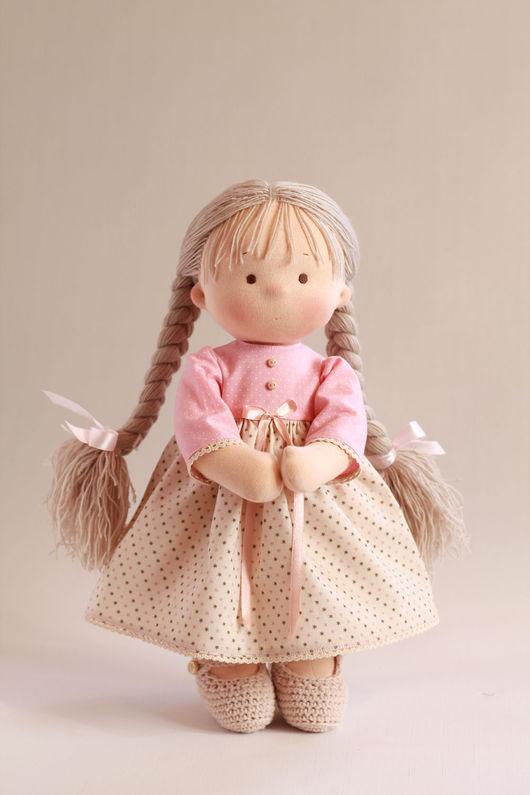 Коллекционные куклы ручной работы. Ярмарка Мастеров - ручная работа. Купить Игровая куколка. Handmade. Вальдорфская кукла, детская кукла