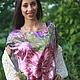 Блузки ручной работы. Ярмарка Мастеров - ручная работа. Купить Шелковая блуза  Душистый шиповник. Handmade. Разноцветный, розовый