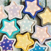 Для дома и интерьера ручной работы. Ярмарка Мастеров - ручная работа Детский ночник Звезда мини. Handmade.