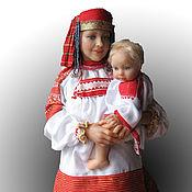 Куклы и пупсы ручной работы. Ярмарка Мастеров - ручная работа Мама и малыш. Handmade.