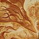 Фэнтези ручной работы. Ярмарка Мастеров - ручная работа. Купить Картина. Танец влюбленных драконов.. Handmade. Красный