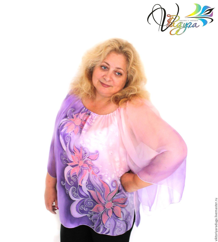 Studio rainbow, Studio rainbow, Victoria, copyright batik, blouse silk blouse silk batik flowers, buy batik, handmade, garment, handmade, original painting, cold batik,