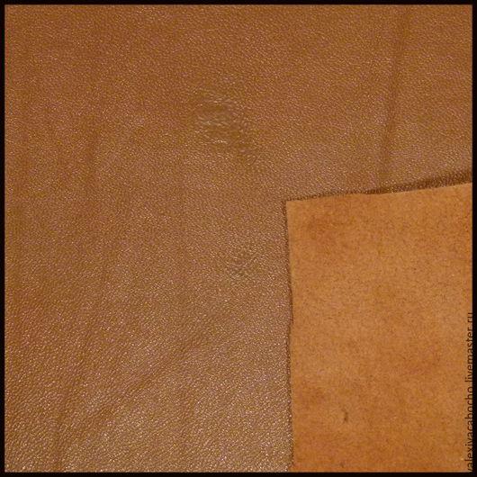 Шитье ручной работы. Ярмарка Мастеров - ручная работа. Купить Кожа натуральная - светло коричневая (разные кусочки). Handmade. Кожа