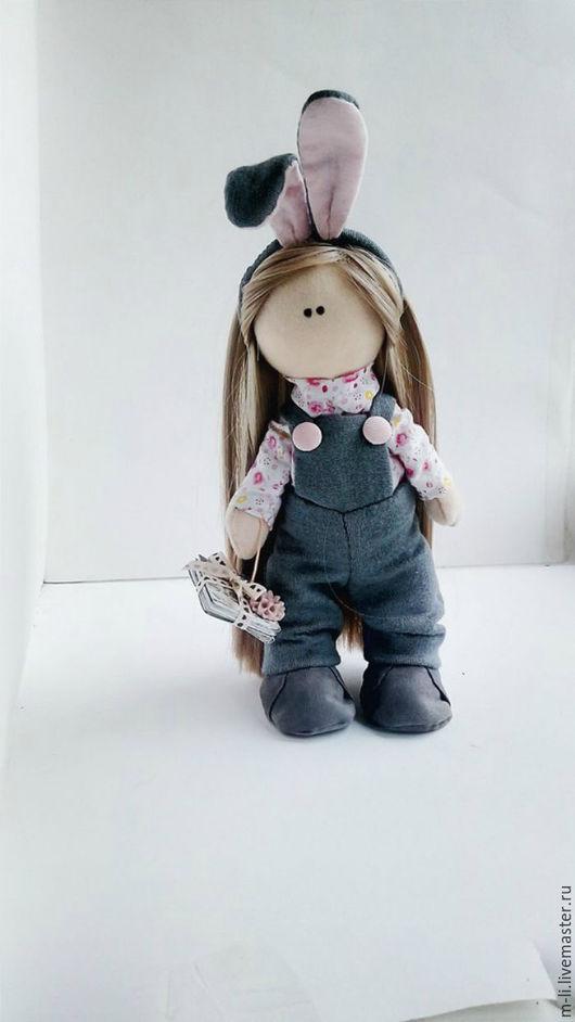 Коллекционные куклы ручной работы. Ярмарка Мастеров - ручная работа. Купить Интерьерная кукла. Handmade. Серый, кукла, кукла в подарок