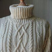 Одежда ручной работы. Ярмарка Мастеров - ручная работа Джемпер ...альпака... Handmade.