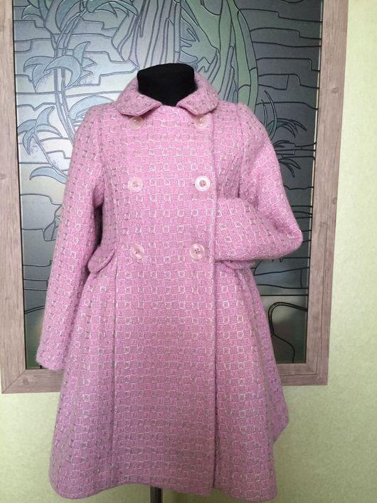 Одежда для девочек, ручной работы. Ярмарка Мастеров - ручная работа. Купить Пальто для романтичной Леди. Handmade. Пальто, вискозная подкладка