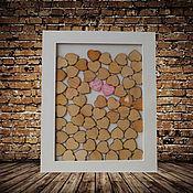 Свадебный салон ручной работы. Ярмарка Мастеров - ручная работа рама , вместо книги пожеланий. Handmade.