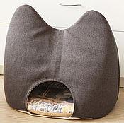 Для домашних животных, ручной работы. Ярмарка Мастеров - ручная работа Кошкин дом, дом для собачки, гнездо для животного, лежанка. Handmade.