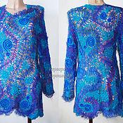 Одежда handmade. Livemaster - original item Crochet lace tunic. Handmade.