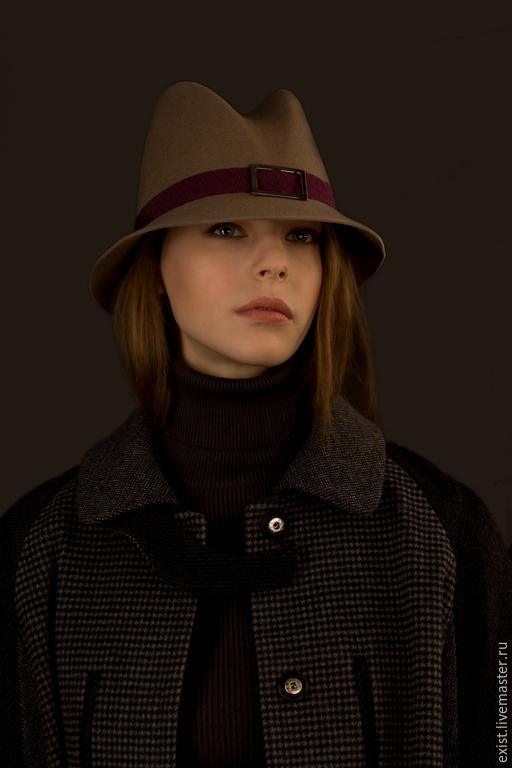 Шляпы ручной работы. Ярмарка Мастеров - ручная работа. Купить Шляпа Nova 2 из велюра. Handmade. Разноцветный, шляпы