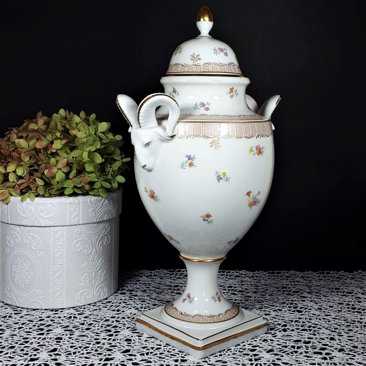 Porcelain vase, Kaiser, Germany, Vintage interior, Munster,  Фото №1