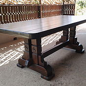 Мебель ручной работы. Ярмарка Мастеров - ручная работа Стол деревянный. Handmade.